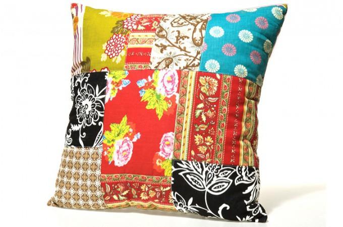 coussin patchwork ottawa coussins pas cher declik deco. Black Bedroom Furniture Sets. Home Design Ideas