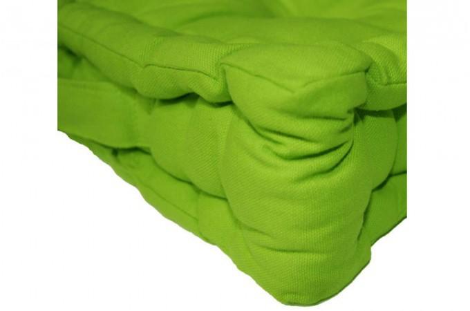 Coussin de sol capitonn vert coussins pas cher declik deco - Coussin de sol 60x60 pas cher ...