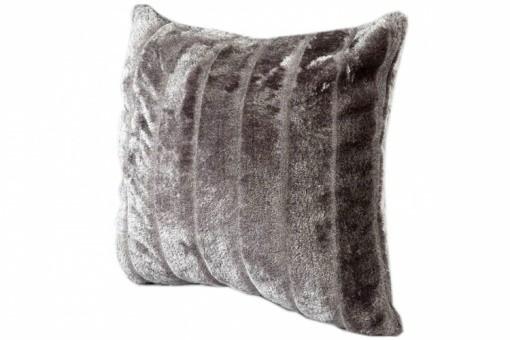 housse de coussin fourrure gris cocoon 40x40 cm coussins. Black Bedroom Furniture Sets. Home Design Ideas