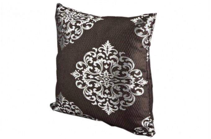 housse de coussin marron sologne 40x40 cm coussins pas cher. Black Bedroom Furniture Sets. Home Design Ideas