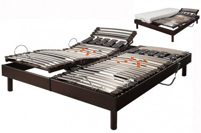 Ensemble relaxation lectrique s66 matelas100 latex 2x70x190 declikdeco - Ensemble relaxation electrique ...
