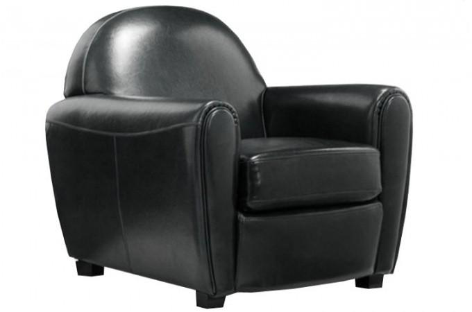 fauteuil club en simili cuir noir broadway 12553 680x450 Résultat Supérieur 50 Nouveau Fauteuil Club Noir Pas Cher Photographie 2017 Zzt4