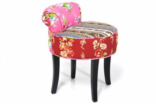 Fauteuil enfant kare design en tissu patchwork hanna deco for Chaise en tissu colore