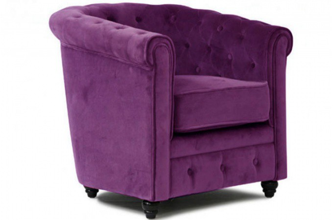 fauteuil chesterfield aubergine pas cher. Black Bedroom Furniture Sets. Home Design Ideas