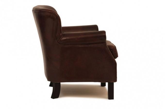 Fauteuil club vintage cuir vieilli fauteuils classiques pas cher - Fauteuil cuir vieilli vintage ...