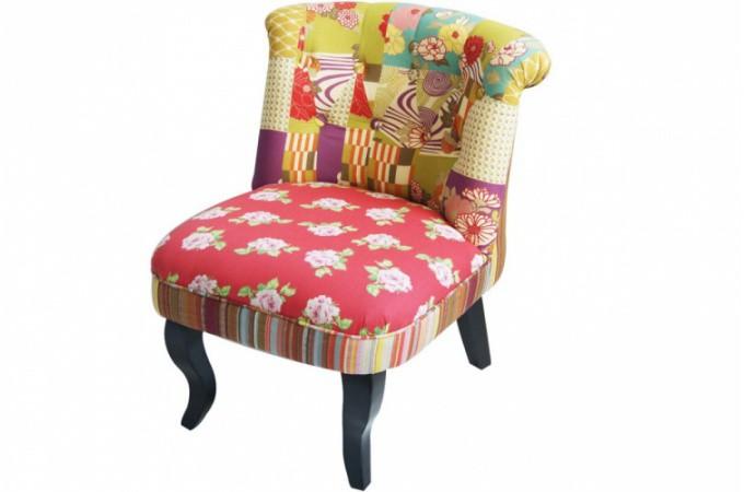 fauteuil crapaud patchwork fauteuils design pas cher. Black Bedroom Furniture Sets. Home Design Ideas