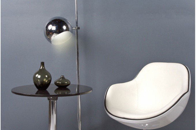 fauteuil design blanc liser noir simili cuir miami fauteuils design pas cher. Black Bedroom Furniture Sets. Home Design Ideas