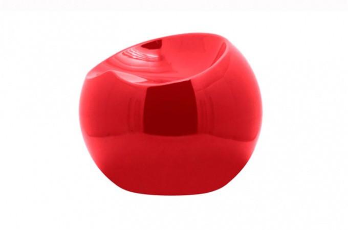 fauteuil ball chair rouge fauteuils design pas cher declik deco. Black Bedroom Furniture Sets. Home Design Ideas