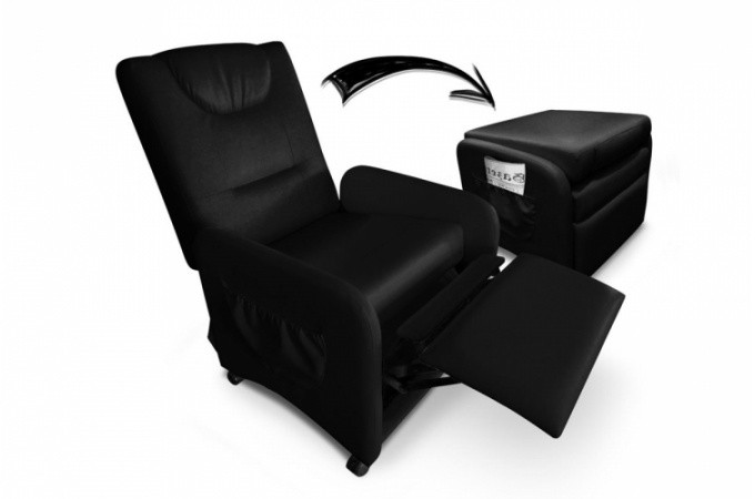 fauteuil noir relaxant pas cher. Black Bedroom Furniture Sets. Home Design Ideas