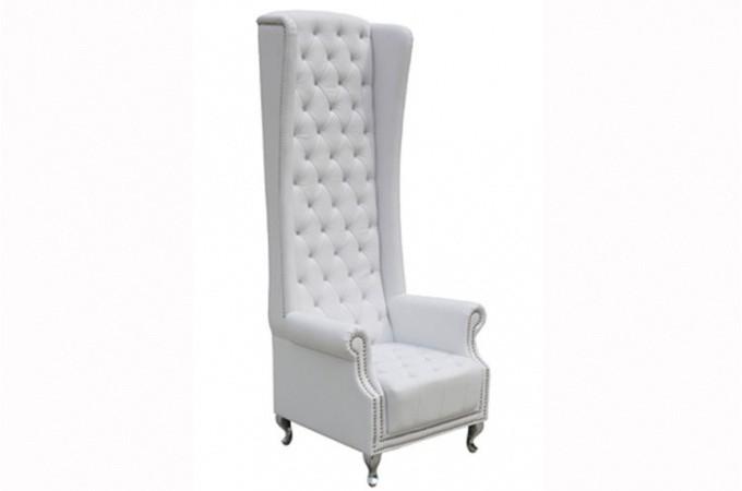Fauteuil capitonn fauteuil blanc declikdeco - Fauteuil blanc capitonne ...