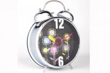 Horloge Design Grand Réveil Kare Design Retro Flowers, deco design