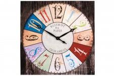 Horloge Design Grande Horloge Colorée Kare Design Bistrot 80 X 80 cm, deco design