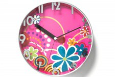 Horloge Hippie Rose - Horloge design