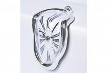 Horloge Design Horloge Murale Kare Design Déformée sur Table, deco design