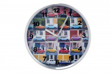 KARE DESIGN - Horloge Murale Multicolor Cars - Horloge design