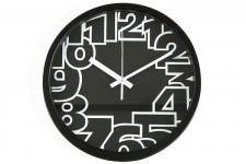 Horloge Design Horloge Murale Noir Romeo , deco design