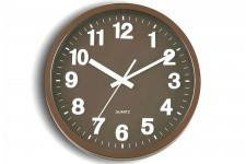 Horloge Design Horloge murale ronde choco Alice, deco design