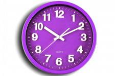 Horloge Design Horloge Murale Ronde Prune Alice , deco design