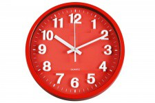 Horloge Murale Rouge Bigben , deco design