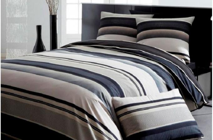 declikdeco housse de couette pur coton coffee 220x240 cm. Black Bedroom Furniture Sets. Home Design Ideas