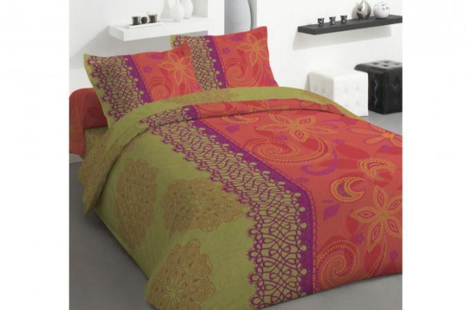 housses de couette orange pictures to pin on pinterest. Black Bedroom Furniture Sets. Home Design Ideas