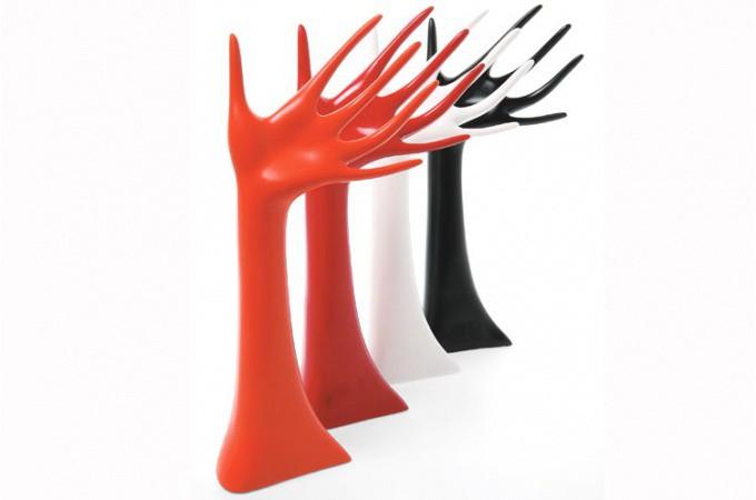 porte bijoux kare design main orange porte bijoux pas cher. Black Bedroom Furniture Sets. Home Design Ideas
