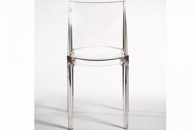 chaise transparente crystal chaises pas cher declik deco. Black Bedroom Furniture Sets. Home Design Ideas