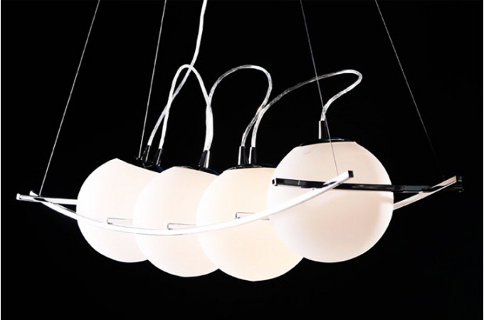 Suspension design electra suspension pas cher for Luminaire lustre design