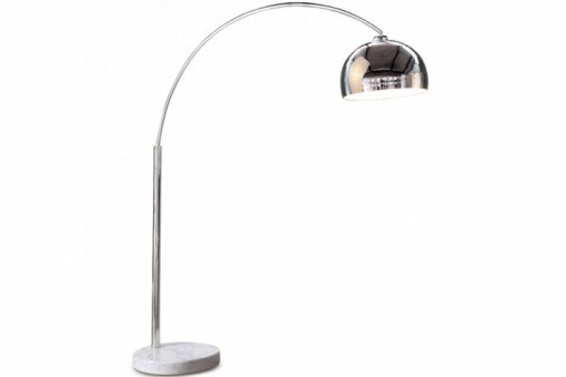 lampe arc design chrome small lampadaires pas cher. Black Bedroom Furniture Sets. Home Design Ideas