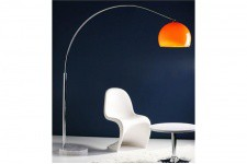Lampe Arc Design Orange Small - Lampe orange design