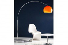 Lampe Arc XL orange - Lampe orange design