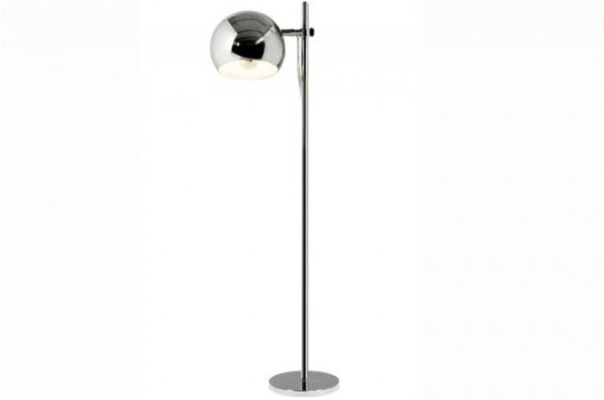 Lampe design m tal chrom cyclope lampadaires pas cher - Lampadaires design pas cher ...