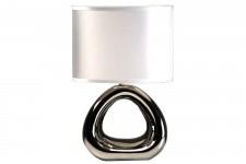 Lampe à Poser Lampe à Poser Blanche Socle Céramique Minotaure , deco design