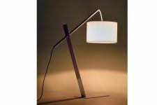 Lampe à Poser Lampe à poser Kare Design en bois et fer blanc Apollo, deco design