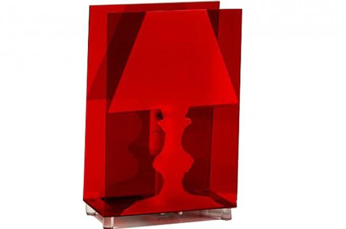 Pin lampe à poser moderne rouge kopen zoom on pinterest