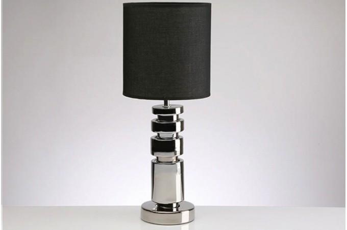 lampe design noir et argent pas cher