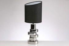 Lampe à Poser Lampe design pieds argentés torsadé, deco design