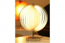 Lampe Design Meteor Small Blanc - Lampe a poser blanche