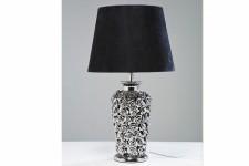 Lampe à Poser Lampe à Poser Kare Design en Métal Argenté Pied Fleuri Rosalie, deco design