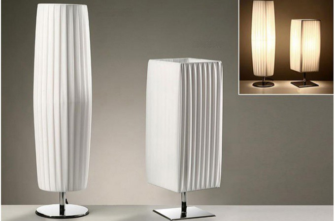 Lampe poser blanche casper lampes poser pas cher for Lampes a poser design