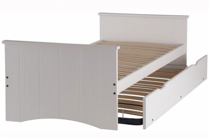 lit gigogne avec deux matelas inclus achetez votre literie sur. Black Bedroom Furniture Sets. Home Design Ideas