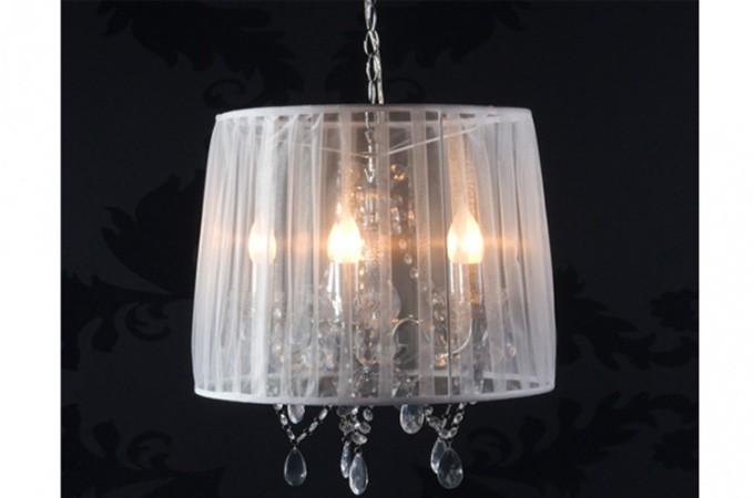 Lustre baroque cosy blanc lustres suspensions pas cher - Decoration baroque pas cher ...