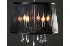 Lustre Baroque Cosy Noir - Lustre et suspension design