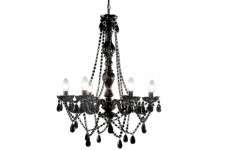Lustre Baroque Noir 6 Bras Crystal - Decoration interieur design