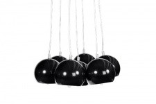Lustre Boule Buble Noir - Lustre et suspension design