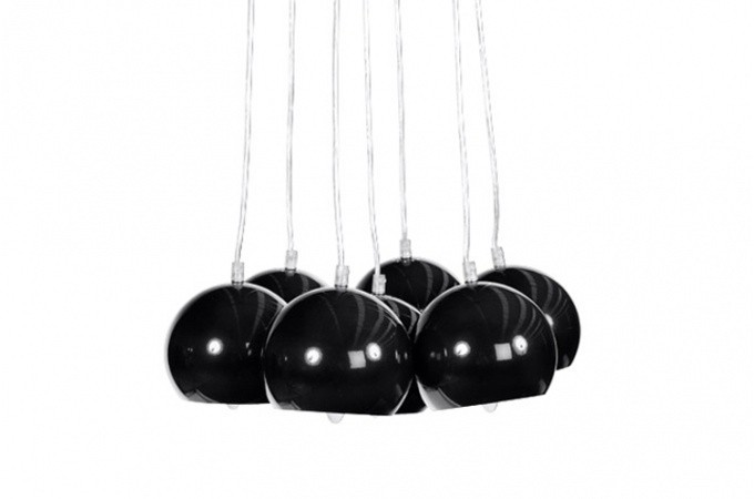 lustre boule buble noir lustres suspensions pas cher. Black Bedroom Furniture Sets. Home Design Ideas