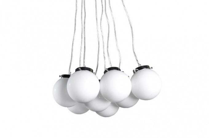 Lustre boule perle lustres suspensions pas cher declik for Luminaire boules suspension