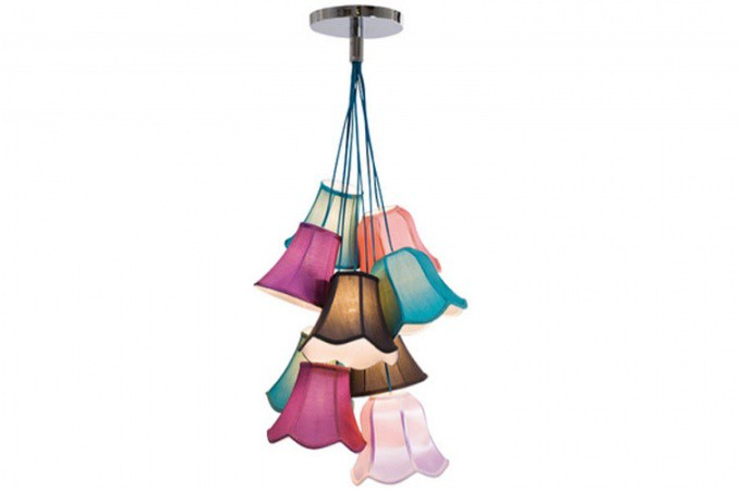 Lustre multicolore saloon lustres suspensions pas cher for Lustre salon pas cher
