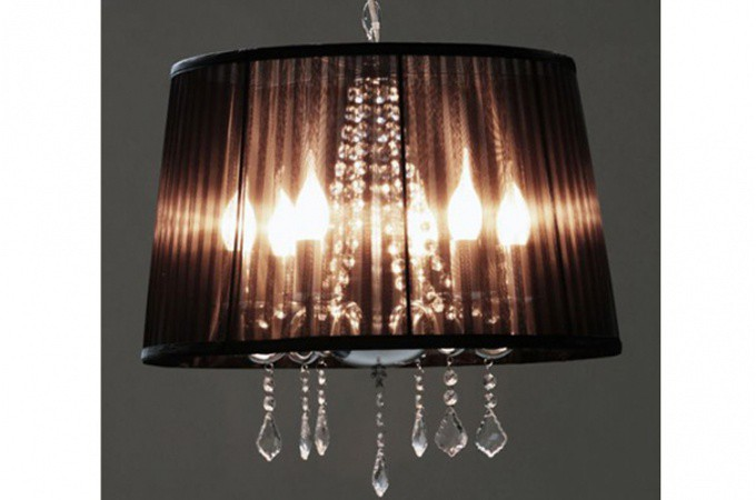 Lustre cosy perfect lustre suspension coeur with lustre for Suspension baroque