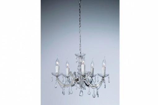Lustre baroque kare design diamant transparente eternity - Lustre noir baroque pas cher ...